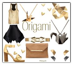 """Origami!"" by whirlypath ❤ liked on Polyvore featuring Origami Jewellery, Yojiro Kake, Marni and Isabel Marant"