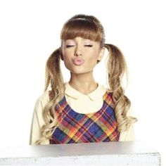 """Promotional photo of Ariana Grande as """"Penny"""" for the """"Hairspray Live! Ariana Grande 2016, Ariana Grande Photoshoot, Hairspray Live, Bae, Ariana Grande Dangerous Woman, Cat Valentine, Queen, Look At You, Look Cool"""