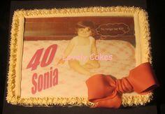 Tarta sorpresa 40 cumpleaños