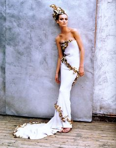 Givenchy  fashion  haute couture  1997  editorial  Alexander McQueen gorgeous!!!