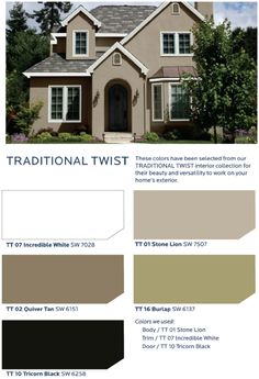 Summer Home Tour 2015 | Exterior, Stucco exterior and White trim