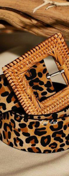 Leopard Fashion, Animal Print Fashion, Animal Prints, Love And Light, Peace And Love, Pink Animals, Stylish Handbags, Organic Matter, Beauty And The Beast