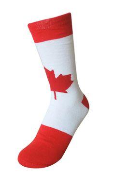 Best For Medical Womens Knee High Socks Canadian Maple Leaf Long Socks For Women 2 Pairs