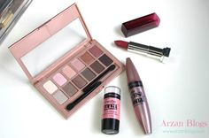 Summer Drugstore Tutorial Featuring Maybelline The Blushed Nudes Palette: http://arzanbeauty.blogspot.ca/2015/06/summer-drugstore-tutorial-featuring.html