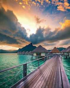 Mesmerizing Landscapes of Bora Bora by Mick Gow Best Vacations, Vacation Destinations, Vacation Trips, Tahiti, Wonderful Places, Beautiful Places, Paradis Tropical, Places To Travel, Places To Go