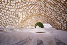 Shigeru Ban, Japanese Pavillion at the Expo 2000
