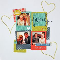 My Happy Place Done for the It's a Plan Class at Right at Home Scrapbooking using Lily Bee We Are Family #rightathome #lilybeedesign