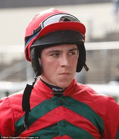 Trainer Warren Greatrex and conditional jockey Gavin Sheehan were celebrating on Thursday after Dolatulo's controversial demotion at Stratford last month was reversed at a British Horseracing Authority inquiry. Types Of Horses, Junior Year, Mongolia, Thoroughbred, Horse Racing, Riding Helmets, Celebrities, Celebs, Famous People