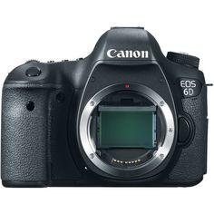Canon 6D DSLR 8035B002 Digital Camera - B&H Photo Video | B&H Photo Video