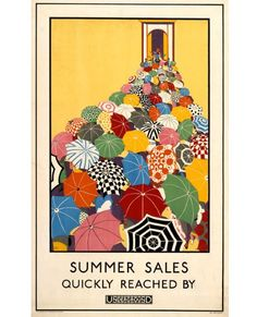 1920s archive poster c/o London Transport Museum
