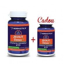 Zeolit Detox+, 60cps+30cps Gratis