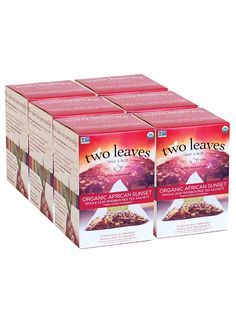 Two Leaves and a Bud Organic African Sunset Red Tea, 15 Count (Pack of 6) *** Check this awesome product by going to the link at the image. (This is an affiliate link) #RooibosTea