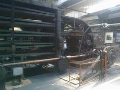 Maszyna do produkcji zapałem sprzed 100 lat