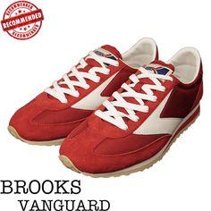 BROOKS【ブルックス】VanguardRed/Whiteバンガードヘリテージフットウエア【スニーカー】