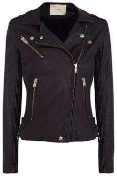 IRO Tara leather biker jacket   NET-A-PORTER