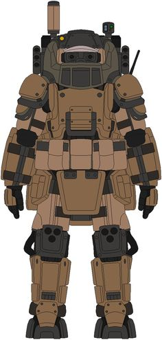 """""""Bulky ? yes... but this thing is far more efficent than how much bulky it might look"""" The Type J-2A is AKA as the Juggernaut ADV... it's a bluky majestic powered battle suit that it's a """"must"""" for..."""