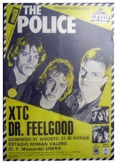 The Police - Madrid 1980