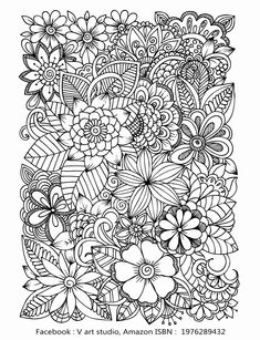 Printable Adult Coloring Pages Flowers Beautiful Pin by K Imagine Publishing On Free Coloring Pages Detailed Coloring Pages, Heart Coloring Pages, Printable Adult Coloring Pages, Flower Coloring Pages, Mandala Coloring Pages, Animal Coloring Pages, Free Coloring Pages, Coloring Books, Kids Coloring