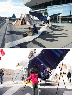 15 Creative Playground Designs You'll Wish Existed When You Were A Kid // An Eagle And A Mountain