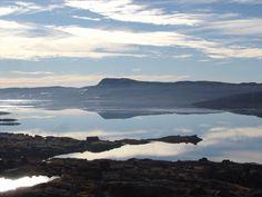 Lake Halnefjorden at Hardangervidda mountain plateau, near Hardangervidda National Park in Norway. Photo by Halne Fjellstove