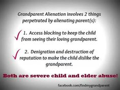 Grandparents Alienation
