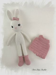 Spring Bunny Tutorial Cat s Cra Crochet Chat Crochet, Crochet Diy, Crochet Amigurumi, Crochet Socks, Crochet Bunny, Love Crochet, Amigurumi Doll, Crochet Buttons, Crochet Stitches