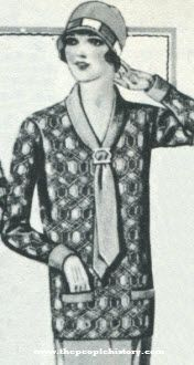 Knitted Sport Blouse 1927