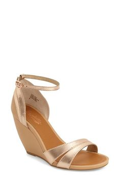 077806551953 rose gold wedge sandal...what is not to love  Plus Seychelles makes