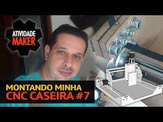 MONTANDO MINHA CNC CASEIRA   PROJETOS   ATIVIDADE MAKER - Construa o seu mundo você pode!