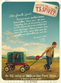 The Young and Prodigious Spivet! :D I cannot wait to see thiss <33 I've been excited for it foreverr! Helena Bonham Carter will be fantabulous in it :DD <3