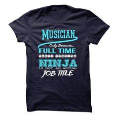 Ninja Musician T Shirts, Hoodies. Get it now ==► https://www.sunfrog.com/LifeStyle/Ninja-Musician-T-Shirt.html?57074 $22.99