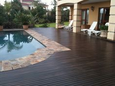 Painted Deck Pictures | Deck Paint - Epoxy| Reservoirs| DIY pools| pool paint
