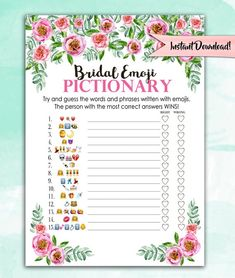 Bridal Shower Versus Bachelorette Party (What's the Difference? Bridal Shower Quotes, Fun Bridal Shower Games, Bridal Shower Party, Bridal Shower Decorations, Backyard Bridal Showers, Disney Bridal Showers, Pink Peonies, Wedding Ideas, Wedding Games