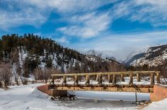 Bridge over Frozen Water  Only a short distance from the Cub Lake trailhead in Rocky Mountain National Park a bridge spans a small creek In the winter its not really needed   #aurorahdr #bestnatureshot #bns_skypt #colorado #coloradocameraclub #coloradoexposure #coloradolife #coloradolove #coloradotography #earthboundshots #ffn_member #fotofanatics_hdr #getoutandexplore #hdr #hdr_oftheworld #hdr_photo_club #hiking #igglobalclubhdr #landscape_captures #landscapestylesgf #liveyouradventure…