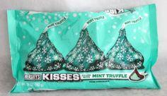 mint truffle kisses more kissed centers xmas chocolates mint kissed ...