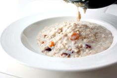 Steel-Cut Oatmeal - soak overnight to save time in the morning!