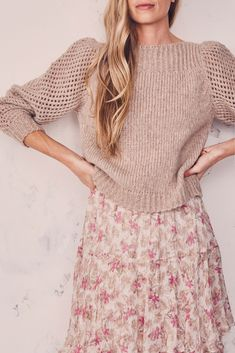 Floral Dress Outfits, Girly Outfits, Modest Outfits, Modest Fashion, Casual Outfits, Fashion Outfits, Cute Outfits, Classic Feminine Style, Feminine Fashion Style