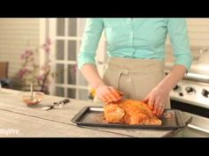 Roast a whole chicken on your grill! It's so easy and so delicious - and won't heat up your house. The leftover make great sandwiches.