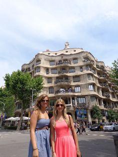 Spain, Barcelona, Gaudi house, La pedrera.