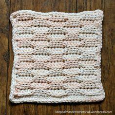 Stitch Story Crochet Along   Design 12 – The Bee Keeper - Small Block