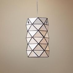 "Tetra Collection Tiffany Style 7"" Wide Pendant Chandelier (M6149)  60 WATT  $124.91"