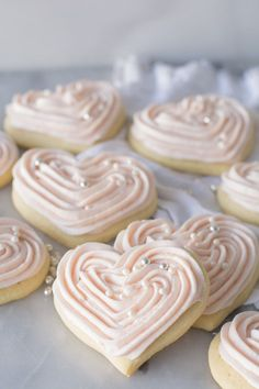 Sour Cream Sugar Cookies are so tender and soft. This cake-like cookie is made r… Sour Cream Sugar Cookies are so tender and soft. This cake-like cookie is made rich with sour cream and butter and will so become a family favorite. via Simply So Good Valentine Desserts, Köstliche Desserts, Delicious Desserts, Dessert Recipes, Valentine Sugar Cookies Recipe, Soft Sugar Cookie Recipe, Food Deserts, Best Cutout Cookie Recipe, Sour Cream Desserts
