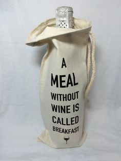 Featured on Established California - Wine Lover's Round Up - Funny Wine Bag