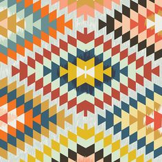 April Rhodes - Wanderer - Serape in Fervor. This would be great for the backing of my southwest quilt.