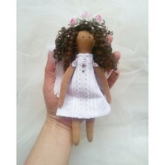 Little Tilda doll Angle by LepiskaBebek on Etsy