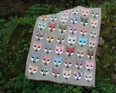 Image of FANCY FOX pdf quilt pattern