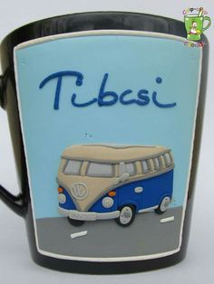 #men #fimo #cup #bus