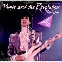 """Prince, Purple Rain - Purple Vinyl - Sealed, US, Deleted, 12"""" vinyl ."""