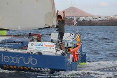 Mini-Transat îles de Guadeloupe : Davy Beaudart vainqueur en proto à (...) - SeaSailSurf.com : L'actualité des sports de glisse #mer #voile #sport
