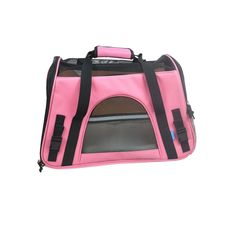 LIly's Pet Carrier Soft Sided Mash Top and 4 Sides Lightweight Foldable Handbag or Shoulder Bag Outdoor Transport Box Dog Cat Carrier Travel Cage Tent Kennel >>> Click image to review more details. (This is an affiliate link) #Doggies